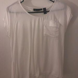 White tee shirt from INC